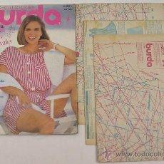 Libros de segunda mano: BURDA MODA - BELLEZA - COCINA - JUNIO DE 1991 - VER DETALLES. Lote 21590598