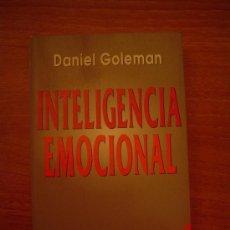 Libros de segunda mano: INTELIGENCIA EMOCIONAL - DANIEL GOLEMAN -BEST- SELLER MUNDIAL. Lote 96032346