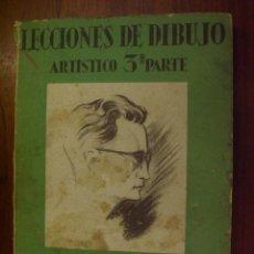 Libros de segunda mano: LECCIONES DE DIBUJO ARTISTICO 3ª PARTE. ANATOMIA RTISTICA POR EMILIO FREIXAS - 1945 . Lote 21857023