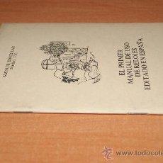 Libros de segunda mano: LIBRO EL PRIMER MANUAL DEL RELOJERO /FACSSIMIL DE 1731/CURIOSO /RELOJES . Lote 26492010