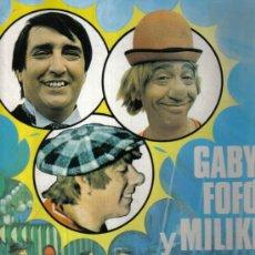 Libros de segunda mano: GABI, FOFÓ Y MILIKI. HISTORIA DE UNA FAMILIA DE CIRCO - PLAZA & JANES 1974 + REGALO CD SINGLE. Lote 27594488