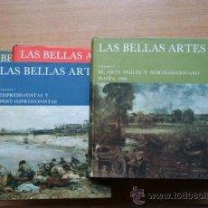 Libros de segunda mano: BELLAS ARTES (LAS). ENCICLOPEDIA ILUSTRADA DE PINTURA, DIBUJO Y ESCULTURA.. Lote 21959625