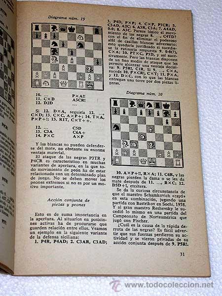 Libros de segunda mano: COLECCIÓN ESCAQUES, 16. A. SUETIN. COMO DEBE JUGARSE LA APERTURA. Ediciones Martínez Roca. Barcelona - Foto 2 - 24942286