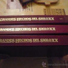 Libros de segunda mano: ENCICLOPEDIA DE LOS GRANDES HECHOS DEL SIGLO XX. Lote 27617335