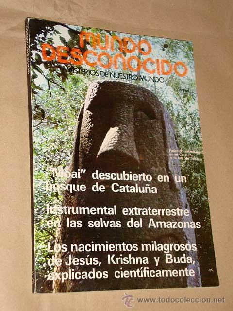 REVISTA MUNDO DESCONOCIDO Nº 11, ATE, ABRIL 1977. MISTERIOS DE NUESTRO MUNDO. VER FOTO DEL ÍNDICE. + (Libros de Segunda Mano - Parapsicología y Esoterismo - Otros)