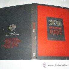 Libros de segunda mano: XII SALÓN DE LOS 16 RESUMEN PRIMERO DEL 28 DE MAYO AL 19 DE JULIO 1992 RM39615. Lote 22124292