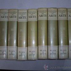 Libros de segunda mano: ENCICLOPEDIA UNIVERSAL DEL ARTE 9 TOMOS PLAZA & JANÉS EDITORES 1978 RM39601. Lote 27483058