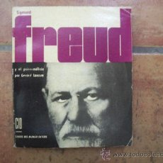 Libros de segunda mano: SIGMUND FREUD - 1962 - CID, EDICIONES - FOTOGRAFÍAS. Lote 22097323