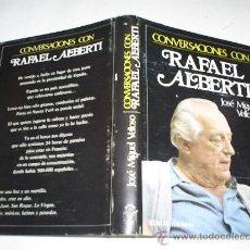 Libros de segunda mano: CONVERSACIONES CON RAFAEL ALBERTI JOSÉ MIGUEL VELLOSO SEDMAY 1977 RM39042. Lote 22204420