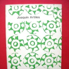 Libros de segunda mano: AGÜIMES ARTÍSTICO - JOAQUIN ARTILES - COLECCIÓN GUAGUA Nº48. Lote 22209942