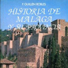 Libros de segunda mano: HISTORIA DE MALAGA Y SU PROVINCIA. Lote 26628870