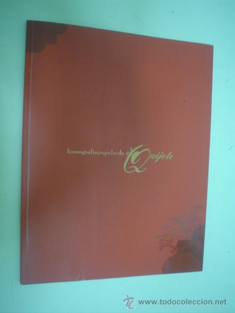 ICONOGRAFÍA POPULAR DE EL QUIJOTE (Libros de Segunda Mano - Bellas artes, ocio y coleccionismo - Otros)