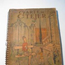 Libros de segunda mano: EL ARTE DE TEJER - ED. ATLANTIDA - 1947. Lote 38883811
