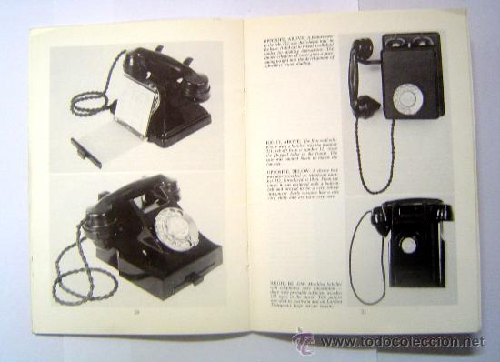 Revista telefonos antiguos - old telephones   a - Sold at