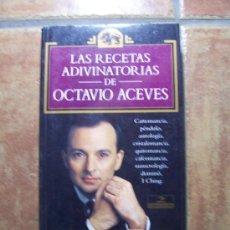 Libros de segunda mano - OCTAVIO ACEVES - 1993 - RECETAS ADIVINATORIAS - ESOTERIKA - 22415016