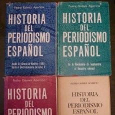 Libros de segunda mano: HISTORIA DEL PERIODISMO ESPAÑOL, 4 TOMOS (OBRA COMPLETA). Lote 22474129