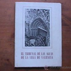 El tribunal de las aguas de la vega de valencia comprar - Libreria segunda mano valencia ...