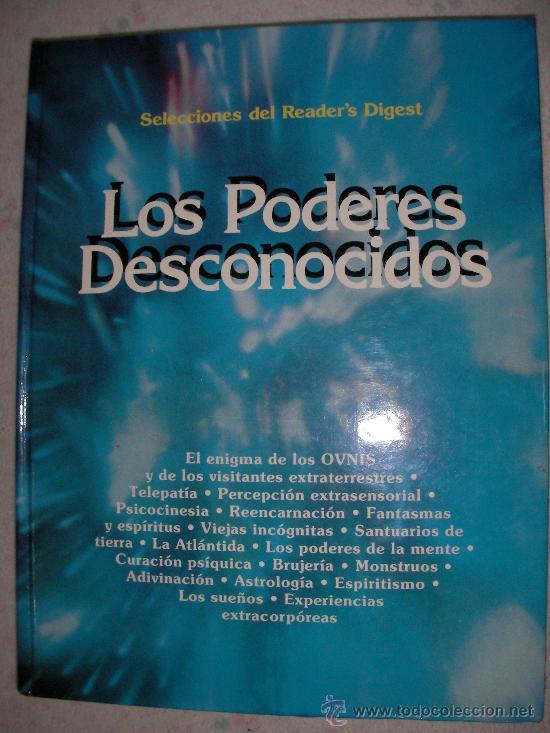 LOS PODERES DESCONOCIDOS (Libros de Segunda Mano - Parapsicología y Esoterismo - Otros)