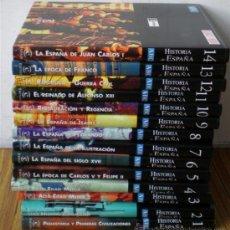 Libros de segunda mano: 14 TOMOS .. HISTORIA DE ESPAÑA .. HISTORIA DE ESPAÑA. Lote 22534486