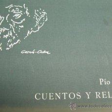 Libros de segunda mano: PIO BAROJA CUENTOS Y RELATOS CON 20 ILUSTRACIONES A COLOR DE GARCIA OCHOA, 1973 EJEMPLAR 1016. Lote 22621667