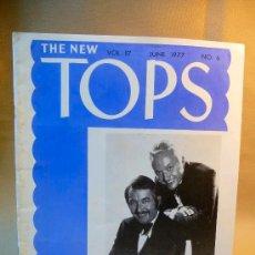 Libros de segunda mano: REVISTA COLECCIONABLE, MAGIA, THE NEW TOPS, JUNIO 1977. Nº6, MILT&BILL LARSEN. Lote 22784719