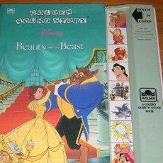 Libros de segunda mano: LA BELLA Y LA BESTIA - GOLDEN SOUND STORY (LIBRO SONORO) - RONALD KIDD Y PAUL WENZEL - USA - 1992. Lote 27078954