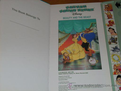 Libros de segunda mano: LA BELLA Y LA BESTIA - Golden Sound Story (LIBRO SONORO) - Ronald Kidd y Paul Wenzel - USA - 1992 - Foto 2 - 27078954