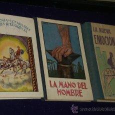 Libros de segunda mano: LOTE DE TRES LIBROS INFANTILES Y JUVENILES DE LECTURA.. Lote 22651772