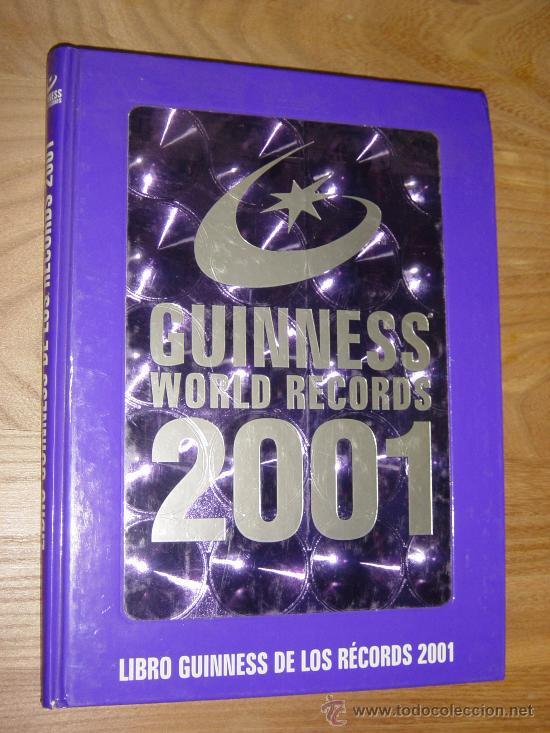 LIBRO GUINNESS DE LOS RECORDS 2001. * (Libros de Segunda Mano - Ciencias, Manuales y Oficios - Otros)