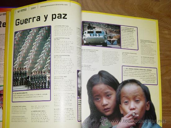 Libros de segunda mano: LIBRO GUINNESS DE LOS RECORDS 2001. * - Foto 2 - 22980646