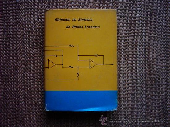 WSEWOLOD WARZANSKYJ POLISCUK. MÉTODOS DE SÍNTESIS DE REDES LINEALES. PRIMERA EDICIÓN 1975. (Libros de Segunda Mano - Ciencias, Manuales y Oficios - Otros)