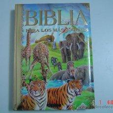 Libros de segunda mano: LIBRO DE LA BIBLIA PARA LOS MAS JOVENES. Lote 23205006