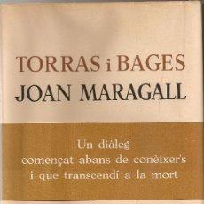 Libros de segunda mano: TORRES I BAGES, JOAN MARAGALL (CORRESPONDENCIA). BCN : ARIEL, 1961. 23X17CM. 461 P.. Lote 24648115