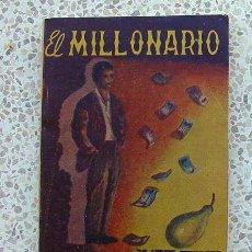 Libros de segunda mano: EL MILLONARIO. MINI LIBRO. SANNA. Lote 23398175