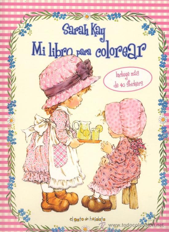 Sarah Kay Mi Libro Para Colorear Con Mas De Vendido En