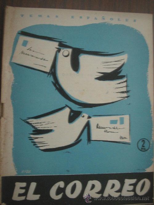 EL CORREO. FORNET DE ASENSI, EMILIO. 1957. TEMAS ESPAÑOLES 302 (Libros de Segunda Mano - Historia - Otros)