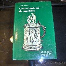 Libros de segunda mano: COLECCIONISMO DE MARFILES . J.M.ECHEVERRIA - EDITORIAL EVEREST 1980. Lote 26396187