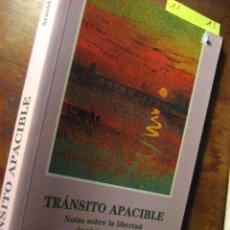 Libros de segunda mano: TRANSITO APACIBLE , BEISSER - ED LOS LIBROS DEL COMIENZO 1997 ( PARACIENCIAS C3. Lote 23758603