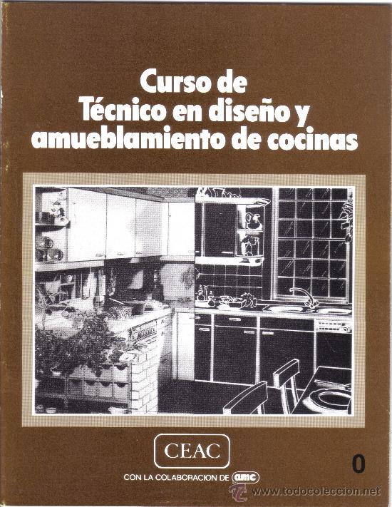 Curso de tecnico en dise o y amueblamiento de c comprar for Amueblamiento de cocinas