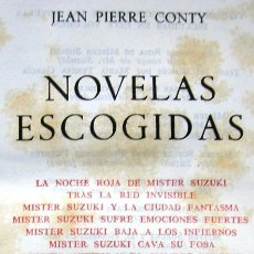 Libros de segunda mano: JEAN PIERRE CONTY - NOVELAS ESCOGIDAS - AGUILAR - AÑO 1962. Lote 23831930