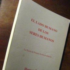 Livros em segunda mão: EL LADO HUMANO DE LOS SERES HUMANOS, HARVEY JACKINS , PSICOLOGIA ( PARACIENCIAS 6 ) . Lote 23842010