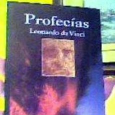 Libros de segunda mano: PROFECÍAS;LEONARDO DA VINCI;LA TEMPESTAD 2004;¡NUEVO!. Lote 25555369