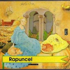 Libros de segunda mano: RAPUNCEL - ILUSTRACIONES DE SALLY CUFFING - 1995 HAPPY BOOKS, MILÁN - INTERIOR CORRECTO.. Lote 112034202