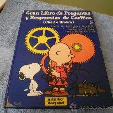 Libros de segunda mano: GRAN LIBRO DE PREGUNTAS Y RESPUESTAS DE CARLITOS .ES EL NUMERO 5. Lote 27074868
