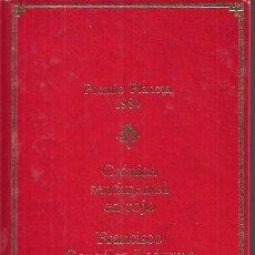 Libros de segunda mano: FRANCISCO GONZÁLEZ LEDESMA / CRÓNICA SENTIMENTAL EN ROJO . ED. PLANETA. PRECINTADO. * NOVELA NEGRA *. Lote 24364860