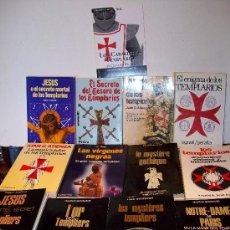 Libros de segunda mano: BIBLIOTECA DE: LOS TEMPLARIOS ( 12 VOLÚMENES ) ¡¡ VER !!. Lote 27418071