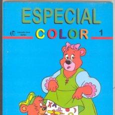 Libros de segunda mano: ESPECIAL COLOR 1, LIBRO PARA COLOREAR,EDITOR LEANDRO LARA. Lote 24596746