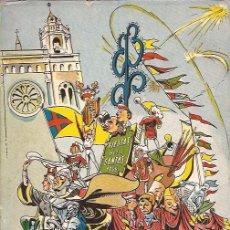 Libros de segunda mano: FIESTAS DE LAS SANTAS. MATARÓ. PROGRAMA GENERAL. 1956. Lote 24663776