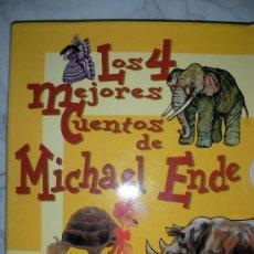 Libros de segunda mano: LOS CUATRO MEJORES CUENTOS DE MICHAEL ENDE. Lote 24721729