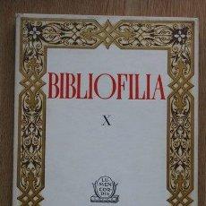 Libros de segunda mano: BIBLIOFILIA. X.. Lote 24911629
